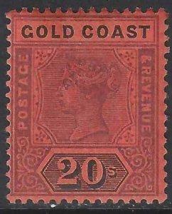 Gold Coast 1894 SC 25 Mint