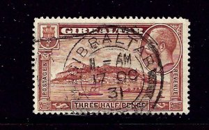 Gibraltar 97 Used 1931 issue perf 14