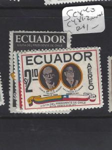 ECUADOR  (PP0209B)   SC  840, C481-2  MNH
