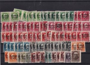 bavaria 1919 overprint  stamps cat £350+  ref 12396