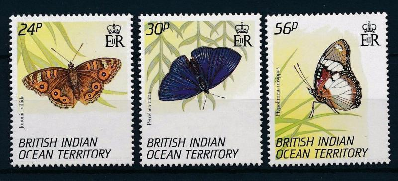 [30446] British Indian Ocean Territory 1994 Butterflies Schmetterlingen MNH