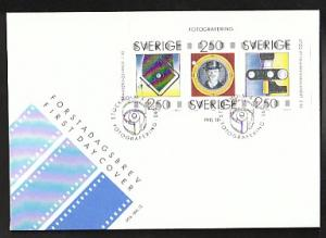 Sweden 1842-1845 Photography 1990 U/A FDC