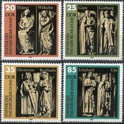 DDR 1983 - Scott# 2355-8 Cathedral Statues Set of 4 NH