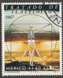 MEXICO C533, 10th Anniv of Treaty of Tlaltelolco. Used. F-VF. (838)