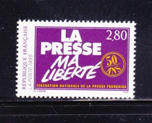 France 2448 Set MNH French National Press Federation
