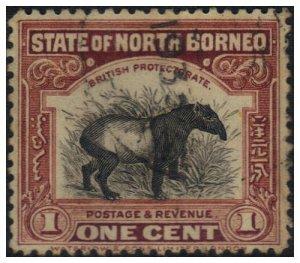 Malaya (North Borneo) 1925 SG277 Used