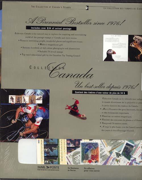 Annual Souvenir Collection The Postage Stamps of Canada 1996 - Stamps & Stories
