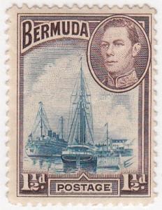 Bermuda, Scott # 119(8), MH