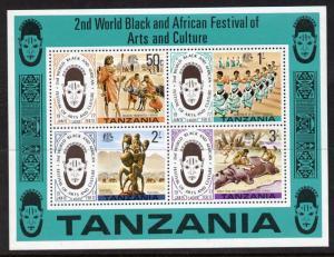 Tanzania 73a MNH Black & African Festival of Arts & Culture, Dance