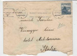 czechoslovakia 1937 stamps cover ref 21002