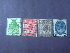 GREAT BRITAIN # 205-208--USED--COMPLETE SET----1929(#2)