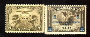 CANADA #C1 C4 MINT F-VF OG LH Cat $55