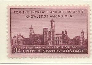 US#943 Smithsonian (MNH) CV $0.25