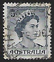 Australia # 319 - Queen Elisabeth - Used....(GR6)