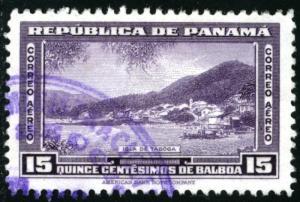 PANAMA #C76, USED , 1942 - PAN271