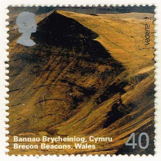 Great Britain #2217 Brecon Beacons; Used (0.90)