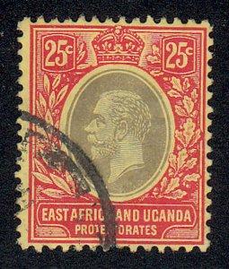 East Africa & Uganda - 1912 - SC 46 - Used