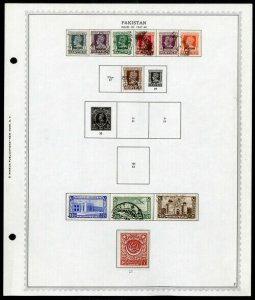 Pakistan mostly mint STAMP collection 1940's to 1969