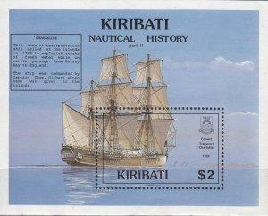 Kiribati, Sc 561, MNH, 1990, Whaling Ship