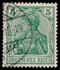 Germany #82 Germania; Used (1.50)