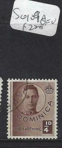 DOMINICA (PP1903B)  KGVI  1//4 D  SG 109A        VFU