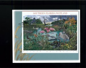 2006 Naples Nature of America Southern Florida Wetland First Day Cover