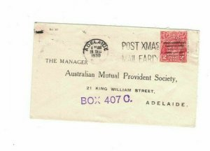 APH1479) Australia 1930 2d Red KGV Die I Small Cover