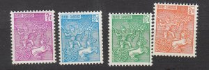 J26831 1961-3 cambodia mh set #94-6 sports