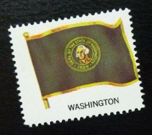 USA Poster Stamp Flag WASHINGTON  C29