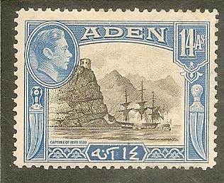 Aden  Scott  23A         Capture of Aden       Unused
