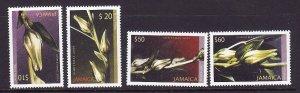 Jamaica-Sc#997-1000-Unused NH set-Christmas-White Sorrel Stalks-2004-