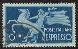 1945 Express Stamps 10Lire Italy (LL-65)