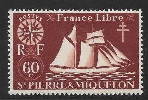 Saint Pierre and Miquelon Mint Never Hinged [4143]