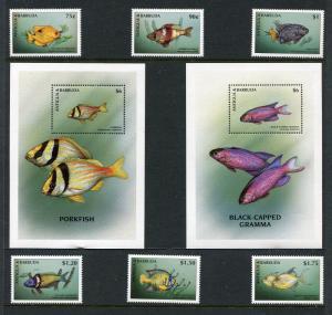 Antigua 2123-2132 MNH Marine Life Fish 1998 x29329