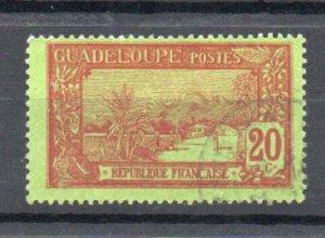 Guadeloupe 66 used (B)