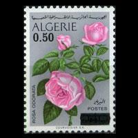 ALGERIA 1974 - Scott# 531 Roses Surch. Set of 1 NH