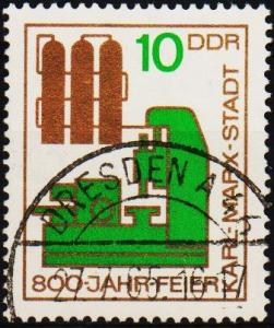Germany(DDR). 1965 10pf  S.G.E835 Fine Used