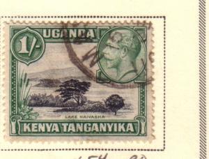 Kenya & Uganda #54 1sh King George V (U) CV $1.00