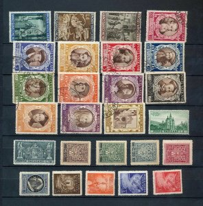 VATICAN MH MNH Used Religion Art Airs (Appx 80 Items) (NT688