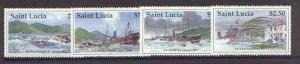 St Lucia 1997 Marine Disasters set of 4 unmounted mint, S...