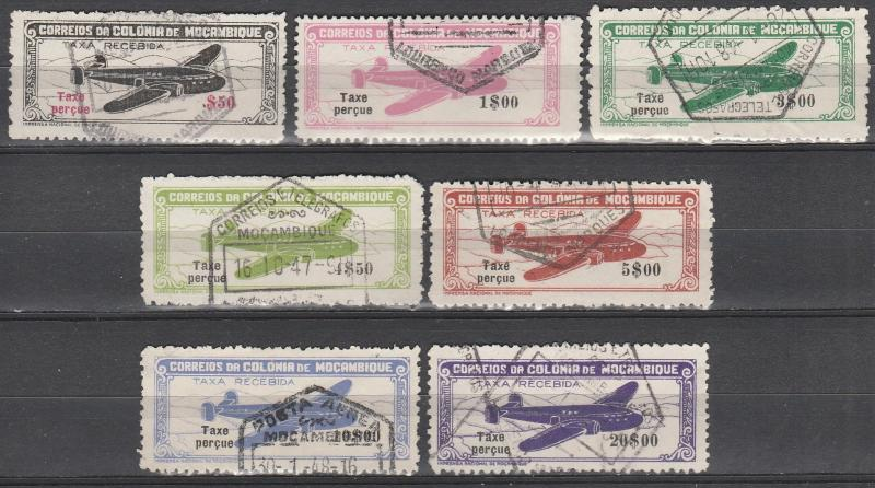 Mozambique #C16-22  F-VF Used CV $7.80 (A15012)