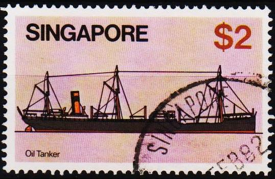Singapore. 1980 $2 S.G.374 Fine Used
