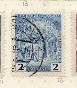Czechoslovakia 1927-29 Issue Fine Used 2k. NW-148888