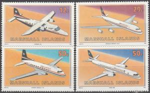 Marshall Islands #407-10  MNH CV $3.10  (K706)