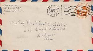 United States, Airmail, Postal Stationery, New York
