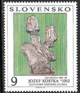 SLOVAKIA 1993 Art From Bratislava Natl. Gallery Issue Sc 175 MNH