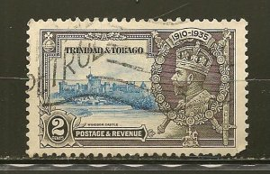 Trinidad and Tobago 43 King George V Jubilee Used