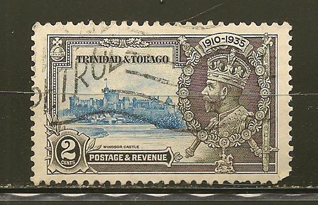 Trinidad and Tobago 43 King George V Jubilee Used