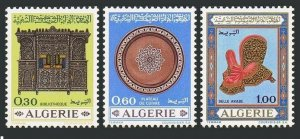 Algeria 421-423,MNH.Michel 528-530. Algerian Handicrafts,1969.Bookcase,Saddle.