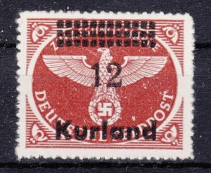 Germany Occupation Kurland 1945 Mi# 4 By MNG (1117)